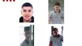 Barcelona, 2017. augusztus 21. A katalóniai rendõrség által közreadott kombókép a barcelonai gázolásos merénylet feltételezett, szökésben lévõ elkövetõjérõl, a 22 éves, marokkói születésû Junesz Abujakubról. A férfi négy napja járókelõket gázolt el Barcelonában, továbbá az éjszaka folyamán más elkövetõk az ugyancsak katalóniai Cambrilsban, a két támadásban a támadásban tizenöt ember életét vesztette, több mint 130 pedig megsebesült, többek állapota válságos. (MTI/EPA/Katalóniai rendõrség)
