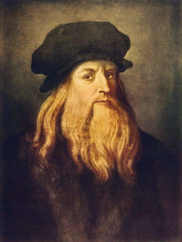 Leonardo da Vinci - self portrait of the Italian Renaissance painter, sculptor, writer, scientist, architect and engineer. 1452-1519  (Photo by Culture Club/Getty Images)