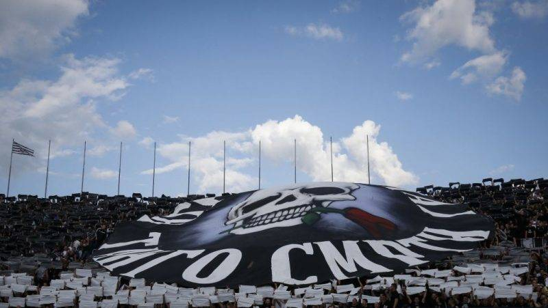 BELGRADE, SERBIA - MAY 27: Partizan soccer fans give their support during the final match of Serbian Cup between Fc Partizan and Fc Crvena Zvezda on May 27, 2017 in Belgrade, Serbia. (Photo by Srdjan Stevanovic/Getty Images)