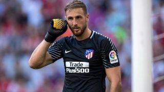MUNICH, GERMANY - AUGUST 01:  Goalkeeper Jan Oblak of Atletico Madrid looks on during the Audi Cup 2017 match between Club Atletico de Madrid and SSC Napoli at Allianz Arena on August 1, 2017 in Munich, Germany  (Photo by Boris Streubel/Getty Images)