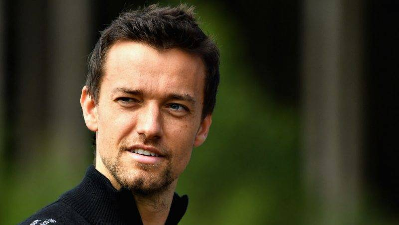 SPA, BELGIUM - AUGUST 24: Jolyon Palmer of Great Britain and Renault Sport F1 looks on  during previews ahead of the Formula One Grand Prix of Belgium at Circuit de Spa-Francorchamps on August 24, 2017 in Spa, Belgium.  (Photo by Dan Mullan/Getty Images)