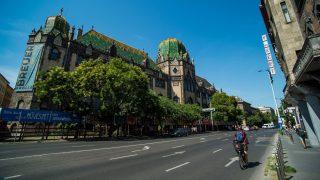 Budapest, 2017. augusztus 3. Az Iparmûvészeti Múzeum 2017. augusztus 3-án. Szeptember 3-án zár az átfogó rekonstrukció elõtt álló múzeum, amely a következõ hetekben számos programmal búcsúzik idõlegesen a látogatóktól. MTI Fotó: Balogh Zoltán