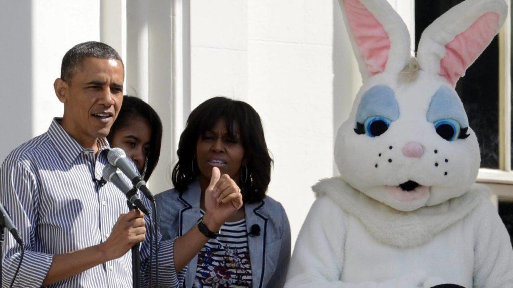 Tojásgörgető-verseny a Fehér Házban