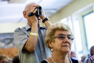 2017.08.31.Mit ígérnek a pártok a nyugdíjasoknak? – pártelnökök fóruma a NYOSZ szervezésében. Fotó:24.hu/Karancsi Rudolf
