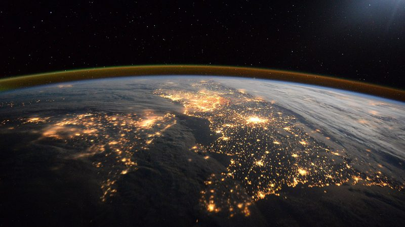 IN SPACE - JANUARY 28: (EDITORIAL USE ONLY) (NO SALES) This handout image supplied by the European Space Agency (ESA), shows a view looking to the East along the English Channel with the UK on the left and France on the right, showing the densely populated areas of London and Paris, in an image taken by ESA astronaut Tim Peake on the International Space Station, January 28, 2016. ESA astronaut Tim Peake is performing more than 30 scientific experiments and taking part in numerous others from ESA's international partners during his six-month mission, named Principia, after Isaac Newtons ground-breaking Naturalis Principia Mathematica, which describes the principal laws of motion and gravity. (Photo by Tim Peake - ESA/NASA via Getty Images)