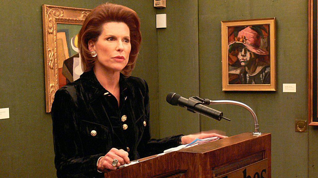 New York, 2009. január 24.Nancy Goodman Brinker volt budapesti amerikai nagykövet beszél, amikor megnyitották a képzőművészeti magángyűjteményéből és Gyugyi László magyar származású amerikai műgyűjtő Zsolnay-kollekciójából összeállított kiállításokat a New York-i Forbes Galériában 2009. január 23-án. A volt amerikai nagykövet gyűjteményében - egyebek között - Berény Róbert kubista csendéletei, Nemes-Lampérth József tájképei és Szobotka Imre konstruktivista alkotásai szerepelnek.MTI Fotó: Hofer László
