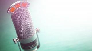 rádió mikrofon on the air
