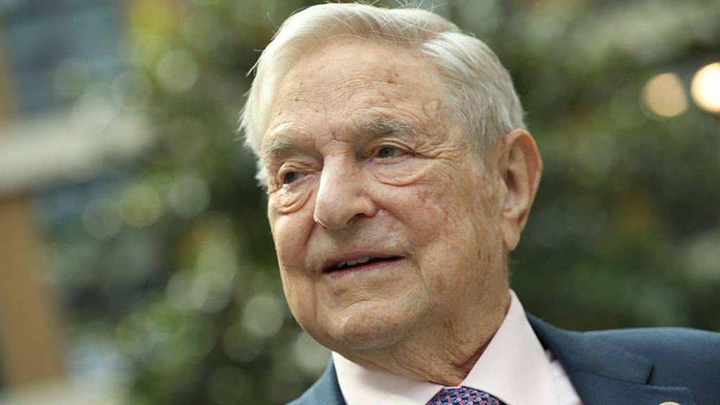BERLIN, GERMANY - JUNE 08:  Financier and philanthropist George Soros attends the official opening of the European Roma Institute for Arts and Culture (ERIAC) at the German Foreign Ministry on June 8, 2017 in Berlin, Germany. The Institute, which is an initiative of the European Council, the Open Society Fund and the Alliance for the European Roma Institute for Arts and Culture, will have an administrative office in Berlin, gallery space in Venice and a liaison office in Brussels.  (Photo by Sean Gallup/Getty Images)