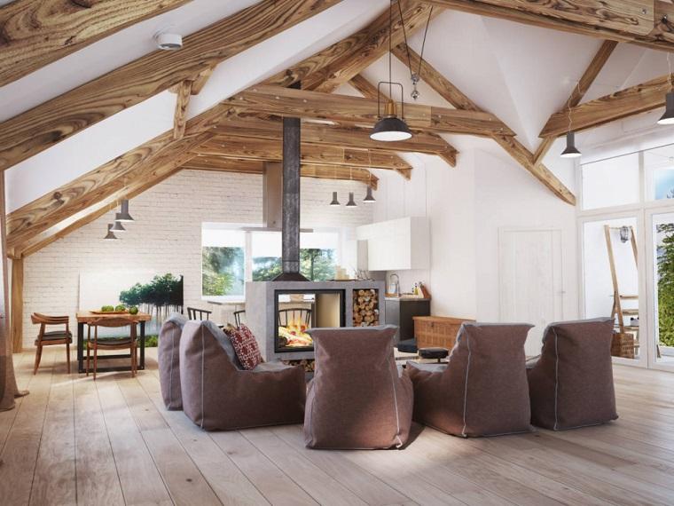 Geräumiges Ehrfürchtiges Traum Wohnzimmer die 25 besten ideen zu rustikale htten auf pinterest kabine  - Cementicreativi.com