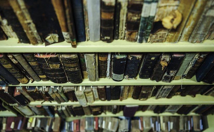 Debrecen, 2016. október 3.Régi könyvek a Debreceni Egyetem Egyetemi és Nemzeti Könyvtár gyűjteményi raktárában 2016. október 3-án. Százéves a debreceni egyetemi könyvtár, amely 1997-től nemzeti gyűjtőkörű könyvtárként, az országrész szellemi központjaként működik.MTI Fotó: Czeglédi Zsolt