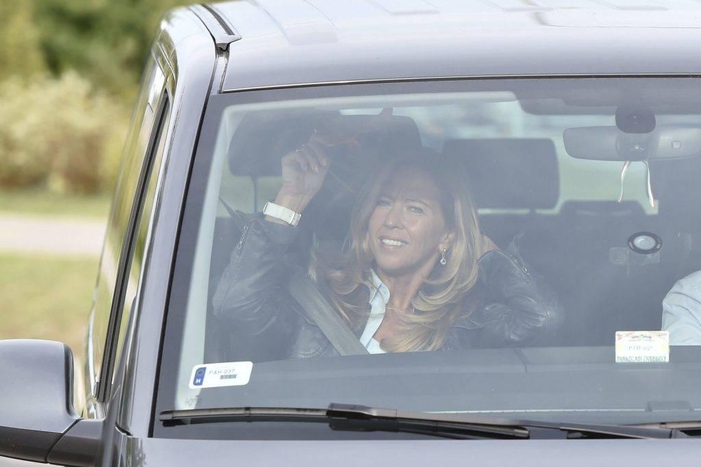 Velence, 2017. szeptember 13. Selmeczi Gabriella fideszes képviselõ érkezik a Fidesz-KDNP frakciószövetség háromnapos kihelyezett ülésére a velencei Velence Resort & Spa szállodához 2017. szeptember 13-án. MTI Fotó: Máthé Zoltán