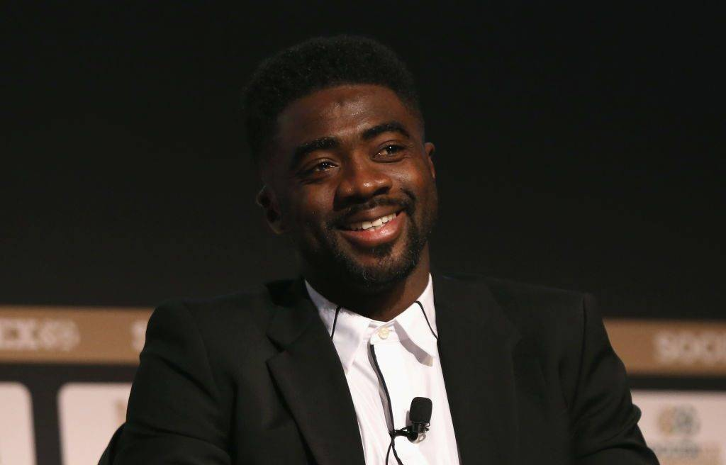 MANCHESTER, ENGLAND - SEPTEMBER 06:  Kolo Toure, former Arsenal & Manchester City player talks during day 3 of the Soccerex Global Convention at Manchester Central Convention Complex on September 6, 2017 in Manchester, England.  (Photo by Barrington Coombs/Getty Images for Soccerex)