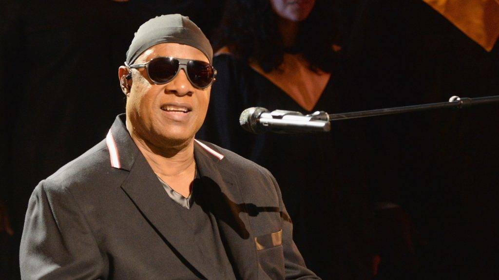 UNIVERSAL CITY, CA - SEPTEMBER 12:  In this handout photo provided by Hand in Hand, Stevie Wonder performs during Hand in Hand: A Benefit for Hurricane Relief at Universal Studios AMC on September 12, 2017 in Universal City, California.  (Photo by Kevin Mazur/Hand in Hand/Getty Images)
