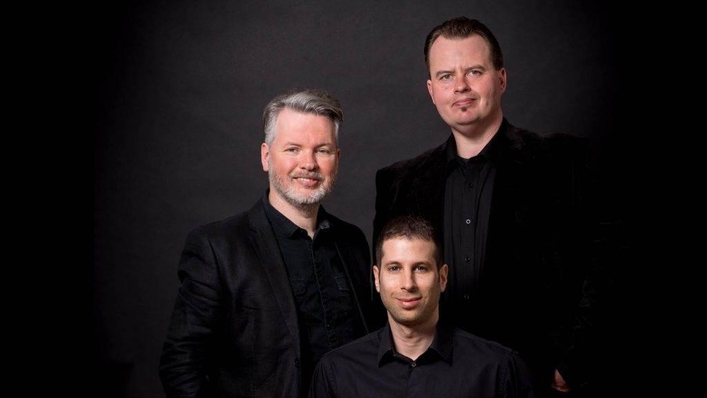 Hajnal Péter, Bedi Viktor és Sobel András, a GLIX alapítói