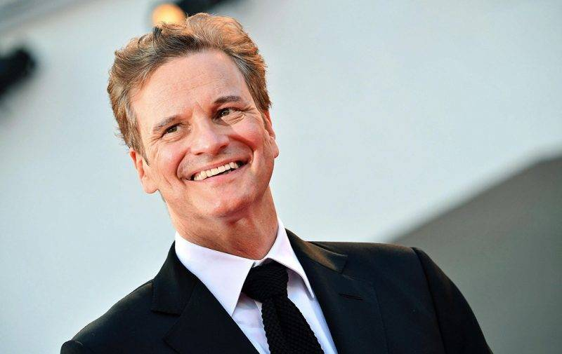 Velence, 2016. szeptember 2.Colin Firth brit színész érkezik a Nocturnal Animals című film bemutatójára a 73. Velencei Nemzetközi Filmfesztiválon 2016. szeptember 2-án. (MTI/EPA/Claudio Onorati)