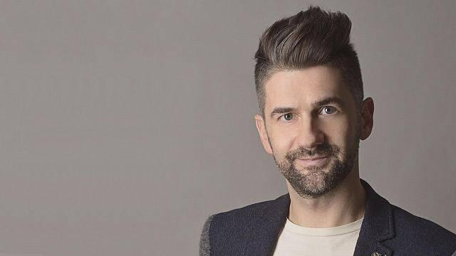 Simon Krisztián, a Brandmania műsorvezetője