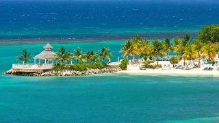 """""""Beautiful and relaxing view of beach in Ocho Rios, JamaicaSee more Jamaica images in this Lightbox:"""""""
