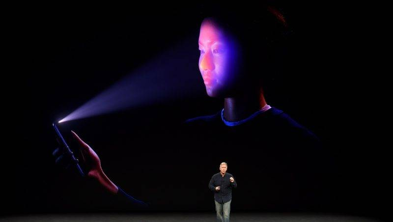 Senior Vice President of Worldwide Marketing at Apple, Philip Schiller, introduces the iPhone X during a media event at Apple's new headquarters in Cupertino, California on September 12, 2017.  / AFP PHOTO / Josh Edelson