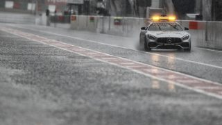 safety car pluie rain ambiance during the 2017 Formula One World Championship, Japan Grand Prix from October 5 to 8 in Suzuka - Photo Clement Marin / DPPI