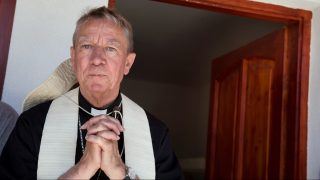 Csévharaszt, 2017. június 25. Beer Miklós váci megyés püspök a csévharaszti plébánia közösségi házának avatásán a Váci Egyházmegyei Találkozón 2017. június 24-én. MTI Fotó: Koszticsák Szilárd