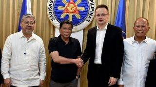 Szijjártó Péter a Fülöp-szigeteken
