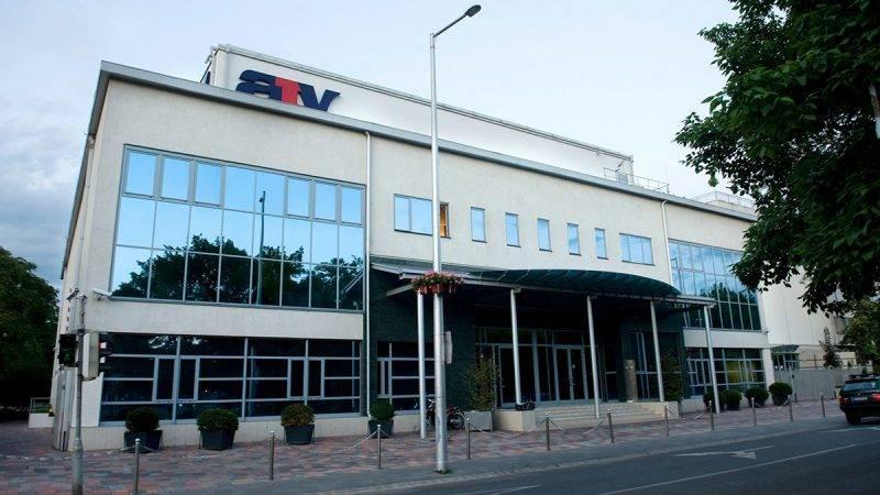 Budapest, 2012. június 7.Az ATV televízió székháza a X. kerületi Kőrösi Csoma Sándor utcában. Az 1990 óta, korábban Magyar ATV néven működő hír- és közéleti televízió-csatorna az első magyar magántulajdonú televíziós társaság.MTI Fotó: Kollányi Péter