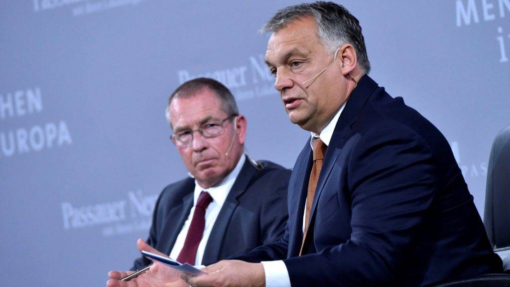 Orbán Viktor Passauban