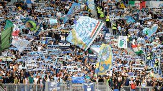 Tifosi Lazio 01-10-2017 Roma Campionato Italiano Serie A Tim incontro SS Lazio Vs US Sassuoloallo stadio Olimpico di Roma. Match day SS Lazio Vs US Sassuolo at the Olimico Satium in Rome. @ Marco Rosi / Fotonotizia