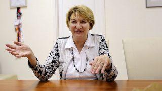 dr. Fazekas Ildikó, az ÖRT főtitkára. Fotó: Fotó: Pál Anna Viktória, 24.hu
