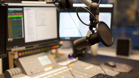 rádió, stúdió. Fotó: Thinkstock