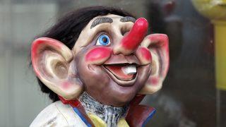 Norway, County of Finnmark, Hammerfest, troll figurines