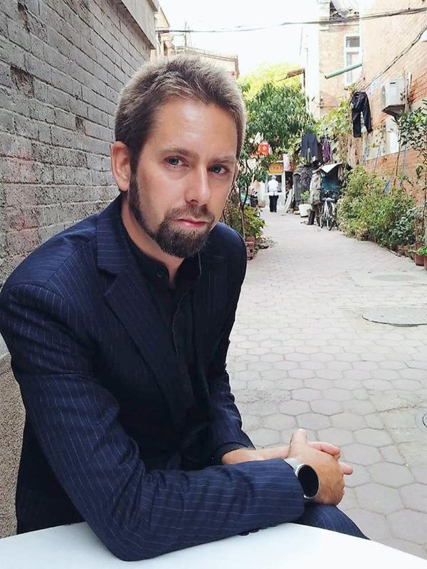 """This undated photo at an undisclosed location provided to AFP by the 'Chinese Urgent Action Working Group' shows Swedish human rights activist Peter Dahlin. Chinese state media on January 19 accused Peter Dahlin, detained amid a crackdown on outspoken lawyers, of inciting """"opposition to the government"""", publishing a """"confession"""" from a detained colleague.  AFP PHOTO / CHINESE URGENT ACTION WORKING GROUP----EDITORS NOTE---- RESTRICTED TO EDITORIAL USE - MANDATORY CREDIT """" AFP PHOTO / CHINESE URGENT ACTION WORKING GROUP"""" - NO MARKETING NO ADVERTISING CAMPAIGNS - DISTRIBUTED AS A SERVICE TO CLIENTS / AFP PHOTO / Chinese Urgent Action W.G. / Chinese Urgent Action W.G."""