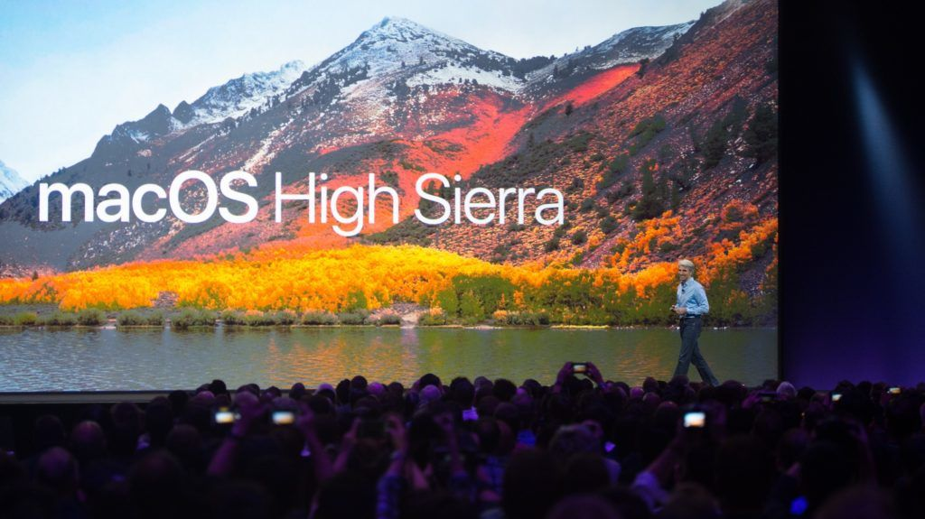 Apple's Senior Vice President of Software Engineering Craig Federighi introduces macOS High Sierra during Apple's World Wide Developers Conference in San Jose, California on June 05, 2017. / AFP PHOTO / Josh Edelson