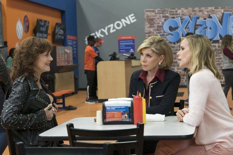 Susan Sarandon, Christine Baranski, and Cheryl Hines star in A BAD MOMS CHRISTMAS