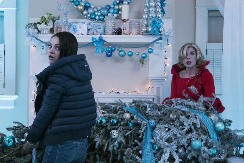 Mila Kunis and Christine Baranski in A BAD MOMS CHRISTMAS