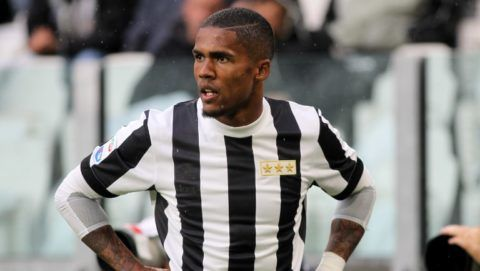 Douglas Costa (Juventus FC)  during the Serie A football match between Juventus FC and Benevento Calcio on 05 November 2017 at Allianz Stadium in Turin, Italy. (Photo by Massimiliano Ferraro/NurPhoto)