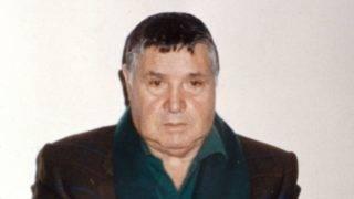Palerme le 15/01/1993 . Le chef de la mafia Salvatore Riina, dit Toto aprčs son arrestation. Photo de Massimo Sestini.