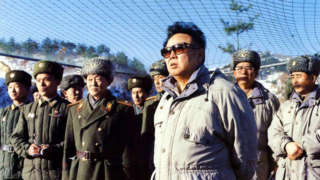 Coree du Nord (Asie), le secretaire du Parti travailliste et commandant de l'armee coreen Kim Jong Il (Kim-Jong 2, ne en 1941). Photo Musacchio ©Farabola/Leemage