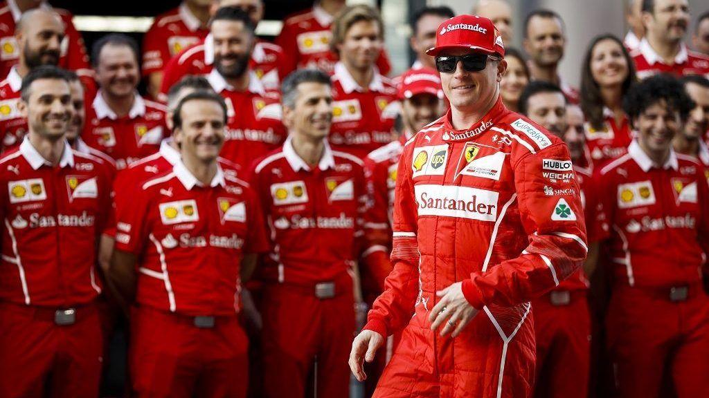RAIKKONEN Kimi (fin) Ferrari SF70-H team scuderia Ferrari, portrait during the 2017 Formula One World Championship, Abu Dhabi Grand Prix from November 23 to 26 in Yas Marina - Photo Florent Gooden / DPPI