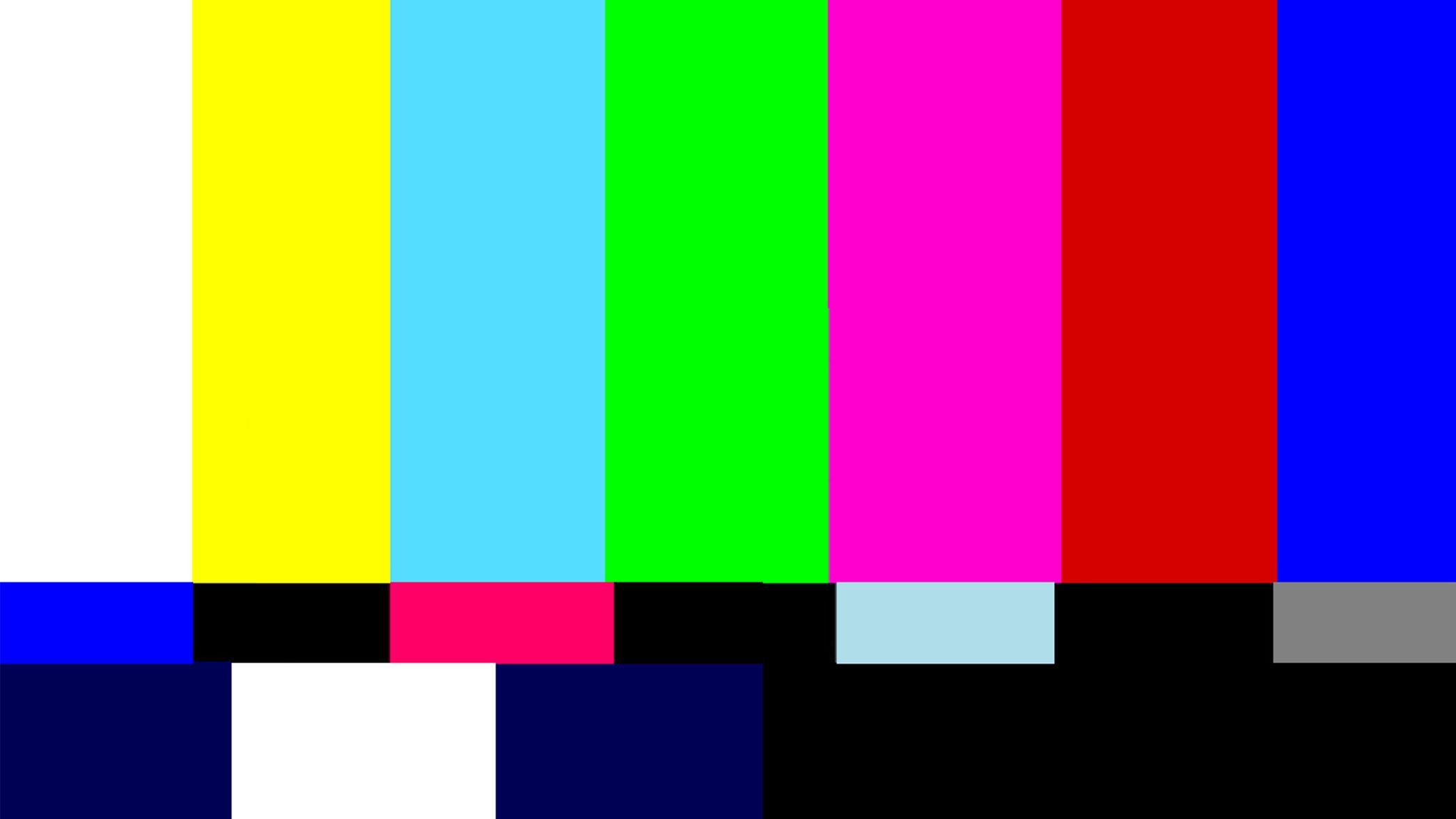 adásszünet, adáshiba, tévé