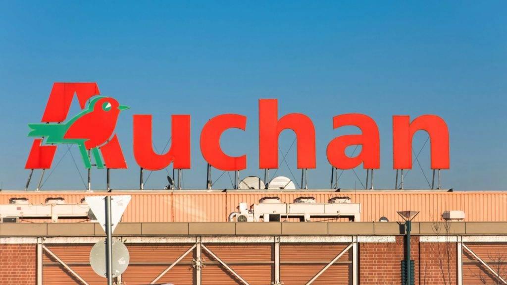 Budapest, 2014. december 27. Az Auchan Bevásárlóközpont Soroksár név felirata az épület homlokzatán. MTVA/Bizományosi: Faludi Imre  *************************** Kedves Felhasználó! Az Ön által most kiválasztott fénykép nem képezi az MTI fotókiadásának, valamint az MTVA fotóarchívumának szerves részét. A kép tartalmáért és a szövegért a fotó készítõje vállalja a felelõsséget.