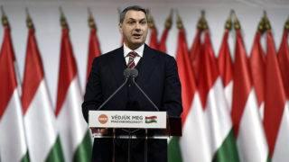 Budapest, 2017. november 12.Lázár János, a Miniszterelnökséget vezető miniszter felszólal a Fidesz XXVII., tisztújító kongresszusán a budapesti Hungexpón 2017. november 12-én.MTI Fotó: Koszticsák Szilárd