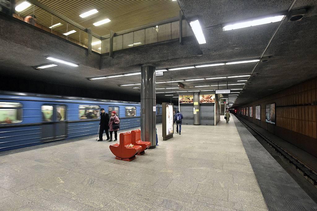 Budapest, 2017. január 5.A 3-as metróvonal Lehel téri állomása 2017. január 5-én.MTI Fotó: Máthé Zoltán