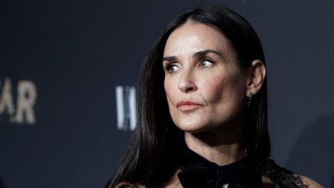 """NEW YORK, NY - SEPTEMBER 23:  Demi Moore attends """"Empire"""" and """"Star"""" celebrate FOX's new Wednesday night at One World Observatory on September 23, 2017 in New York City.  (Photo by John Lamparski/Getty Images)"""