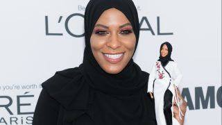 NEW YORK, NY - NOVEMBER 13:  Ibtihaj Muhammad attends the 2017 Glamour Women of The Year Awards at Kings Theatre on November 13, 2017 in New York City.  (Photo by Noam Galai/WireImage)