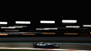 ABU DHABI, UNITED ARAB EMIRATES - NOVEMBER 24: Lewis Hamilton of Great Britain driving the (44) Mercedes AMG Petronas F1 Team Mercedes F1 WO8 on track during practice for the Abu Dhabi Formula One Grand Prix at Yas Marina Circuit on November 24, 2017 in Abu Dhabi, United Arab Emirates.  (Photo by Dan Istitene/Getty Images)