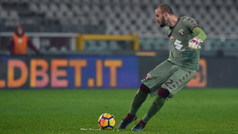 during the TIM Cup match between Torino FC and Carpi FC on November 29, 2017 in Turin, Italy.