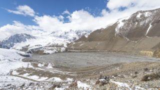 Nepalese mountain  landscape, Amadablam