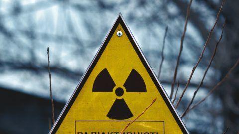 Sign of radioactivity