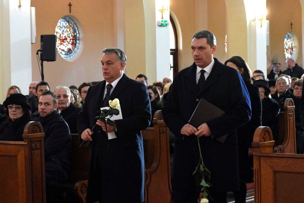 Almási István temetése